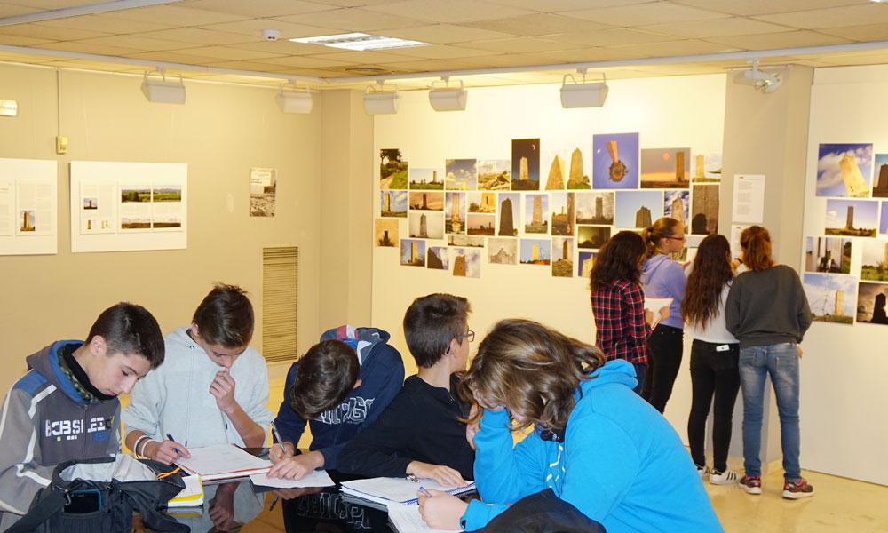 Colegios que han visitado la exposición Torre de Espioca