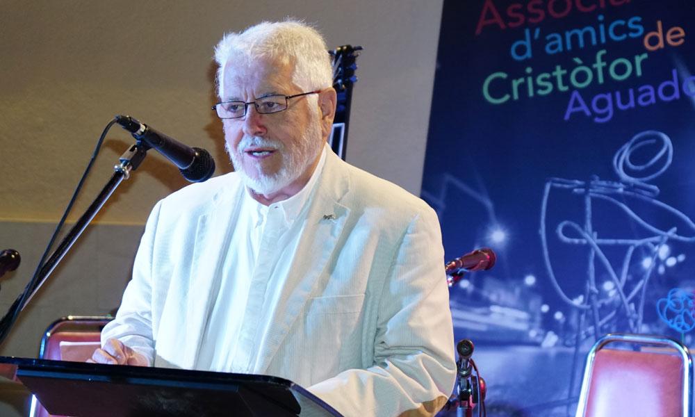 Jesús Huguet i Pascual, Premi Cultural Cristòfor Aguado 2017